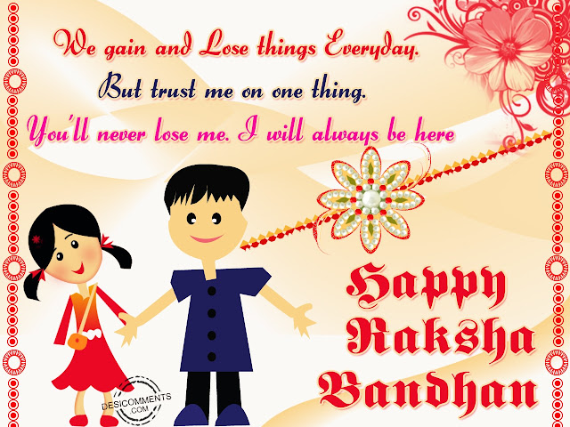 Happy Rakhi 2017 Status for Sister