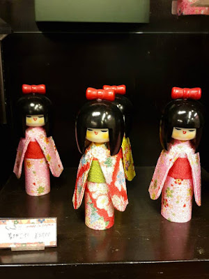 Cute Kokeshi at Arashiyama Kyoto Japan