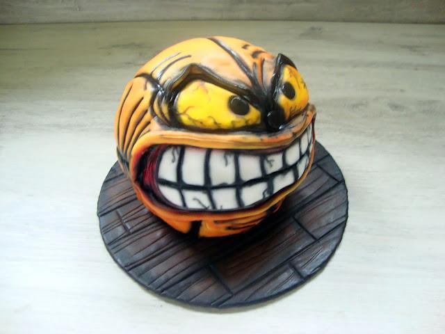 Tort wściekła piłka