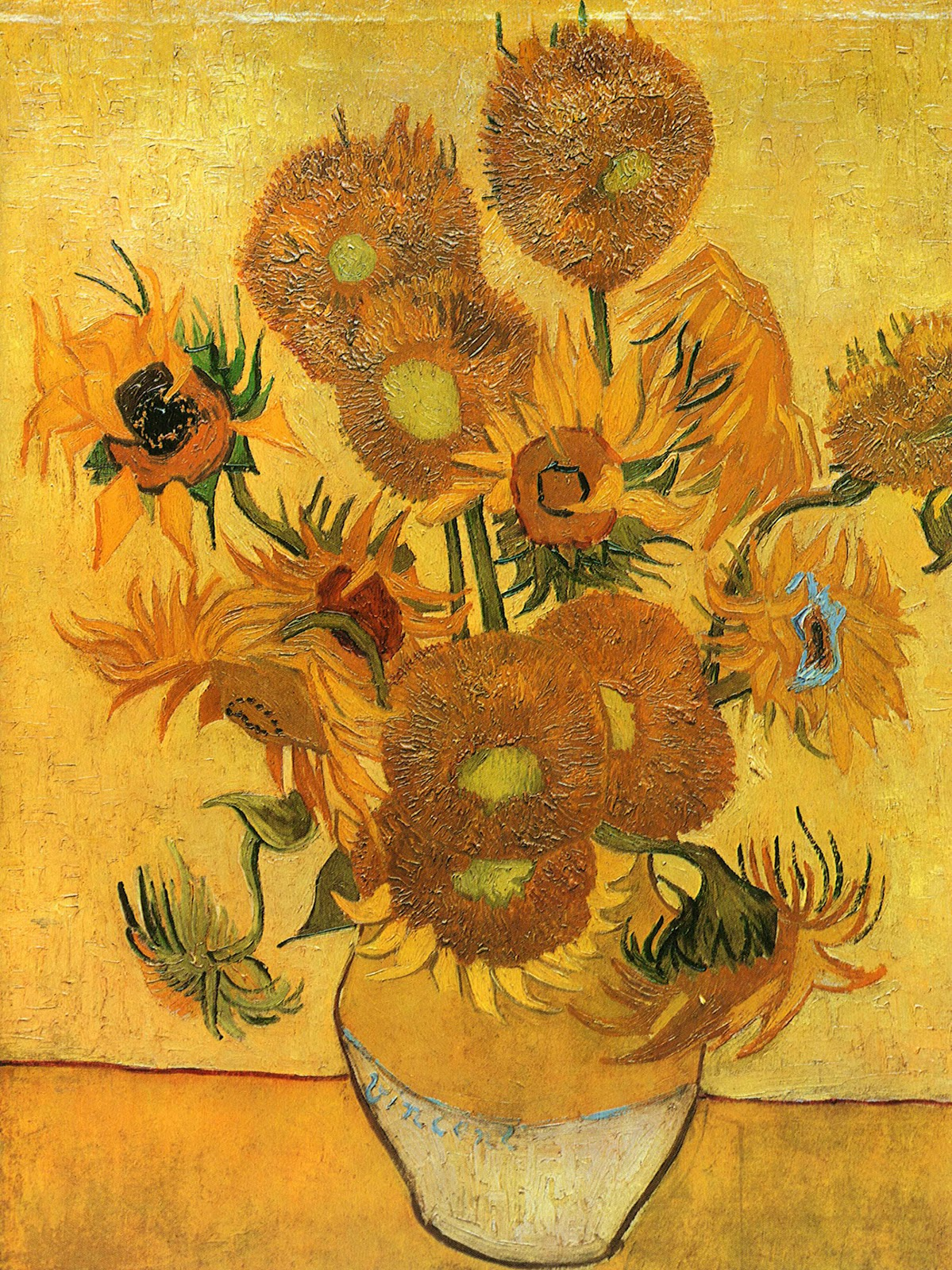 art \u0026 artists & ART \u0026 ARTISTS: Vincent van Gogh - Flowers part 2