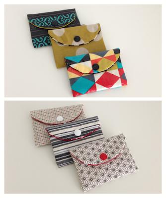 mit Strich und Faden: Portemonnaie |Kreditkartenportemonnaie