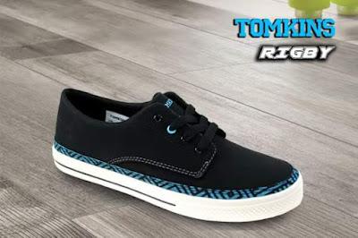 Tomkins Rigby Black Blue