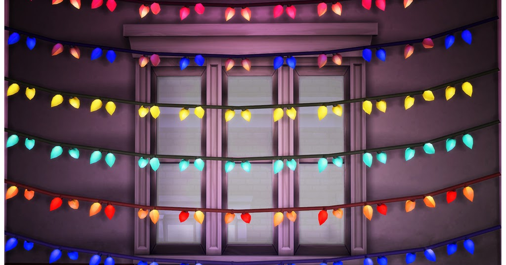 My Sims 4 Blog: Liberated String Lights, Garlands, Lanterns and More by IcySpicyScalpel