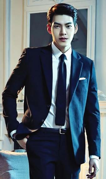 Image result for artis cowok korea pakai jas