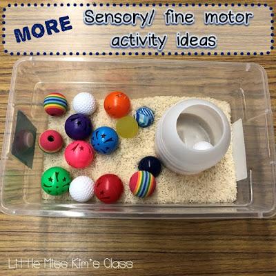Sensory & Fine Motor Activity Ideas for Special Education