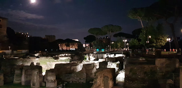 Luna llena, foros imperiales, Roma, Italia, Italy, history, blog de viajes, travel blog, travel, Elisa N, Argentina