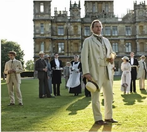 BON Weekend [and how is a dinner prepared in real life at Downton Abbey?]