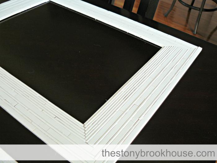 Painted DIY Bamboo Mat