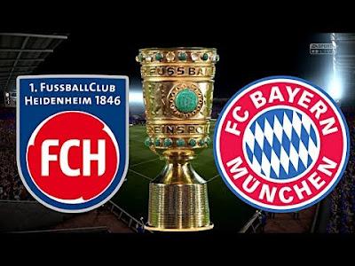 مشاهدة مباراة بايرن ميونخ وهايدنهايم اليوم بث مباشر فى كأس المانيا