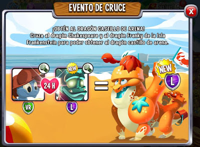 imagen del evento de cruce del dragon castillo de arena