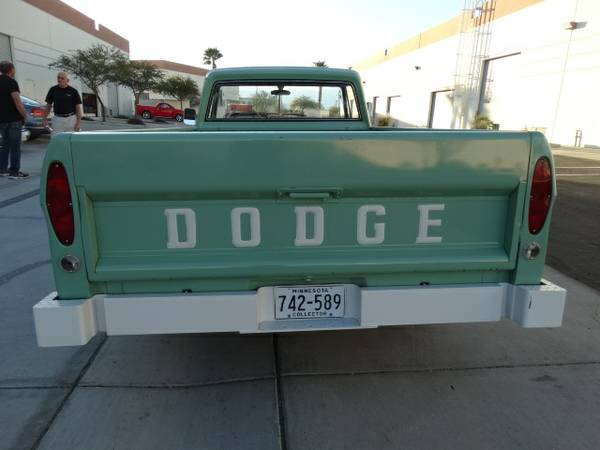 1968 Dodge D100 Pickup Truck Auto Restorationice