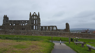 Whitby Abbey today