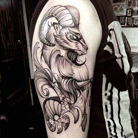 38 Best Capricorn Tattoos Designs And Ideas With Meanings