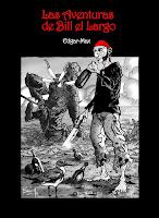 """Portada del cómic """"Las aventuras de Bill el Largo"""", de Edgar-Max"""