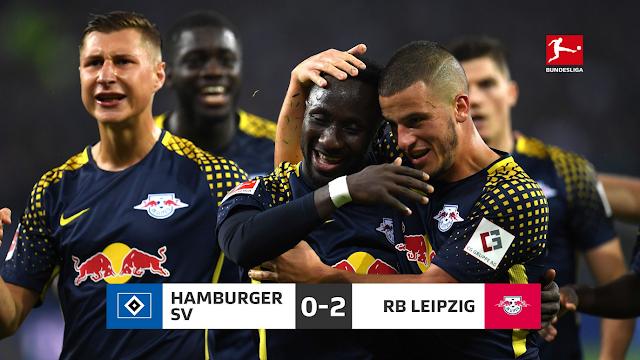 Bundesliga:  Hamburg 0-2 RB Leipzig Sabtu 9 Sept 2017