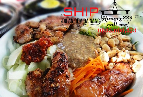 Bun thit nuong - Ship do an dem Da Nang