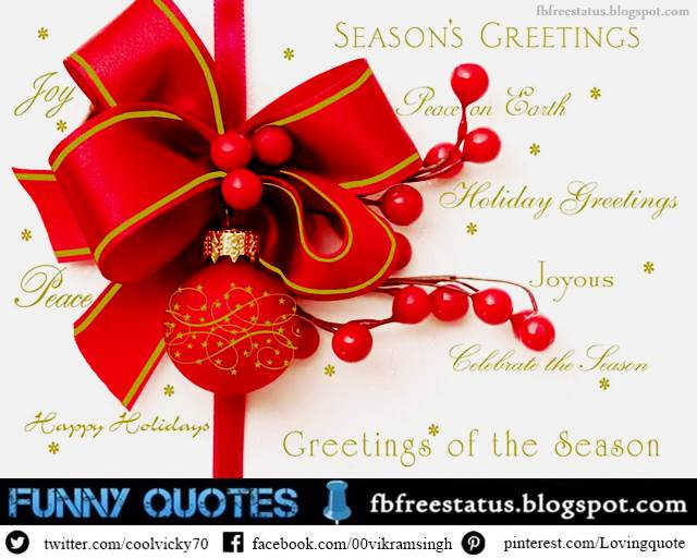 Christmas Greetings, Christmas Greeting Wishes and Messages