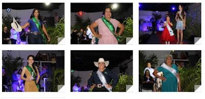 Concurso elegeu as Rainhas e Princesas da 14ª EXPOJUQUIA