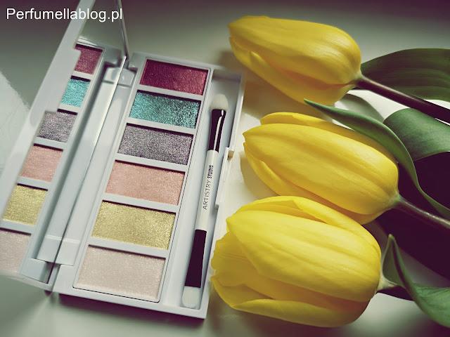 perfumella blog artistry makeup makijaż