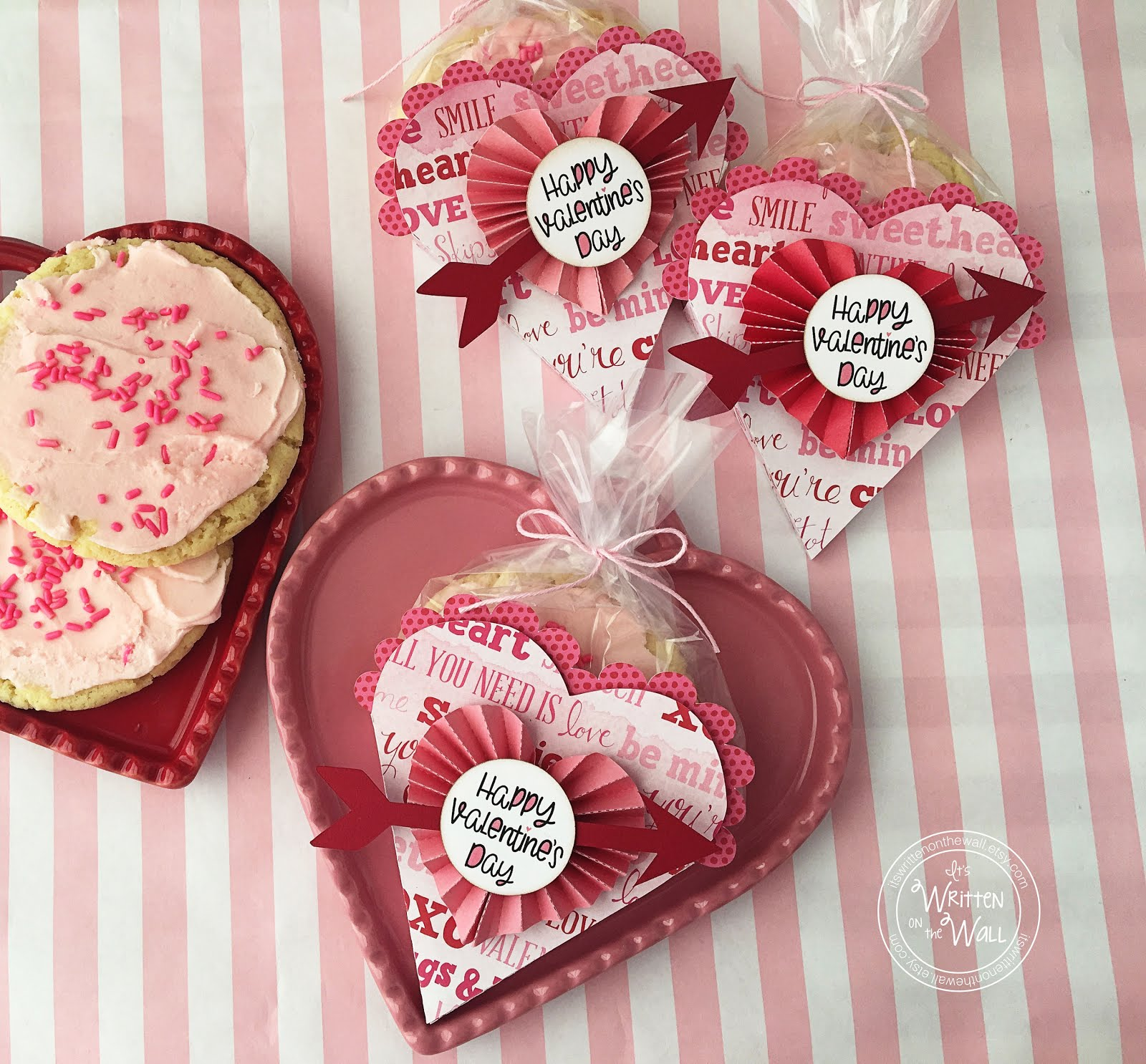 Valentine Heart Cookie/Treat Holder