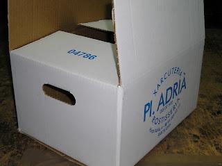 caja con asa