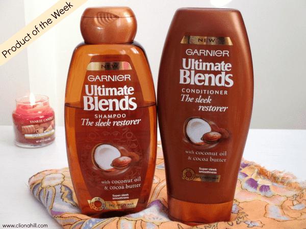 Garnier Ultimate Blends Sleek Restorer Shampoo and Conditioner