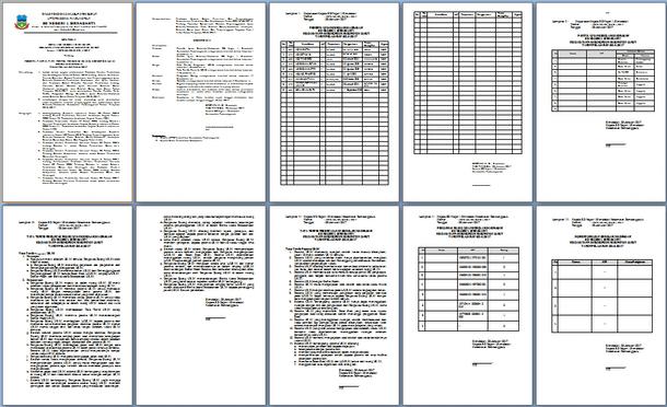 File Pendidikan Contoh Sk Kepala Sekolah Ujian Sekolah/Madrasah Tahun 2017