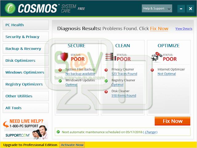 Cosmos System Care (Falso optimizador)