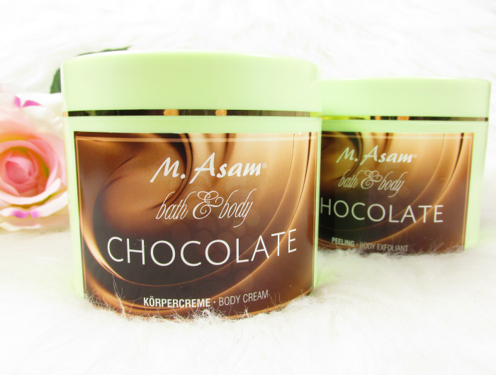 Dream-Teams im Bad - M. Asam Chocolate Körpercreme & Peeling