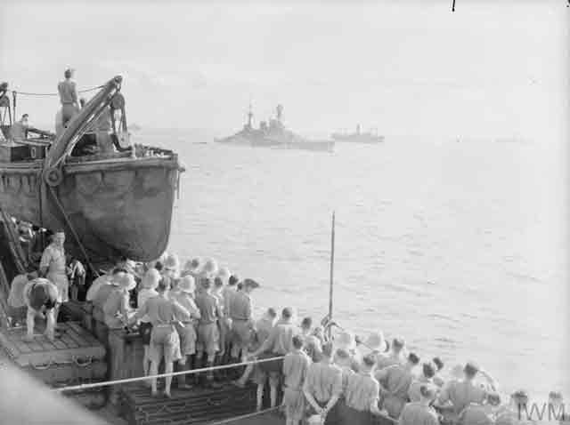 HMS Repulse at Singapore, 3 December 1941 worldwartwo.filminspector.com