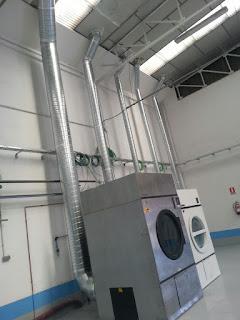 imagen salida vapores lavanderia industrial
