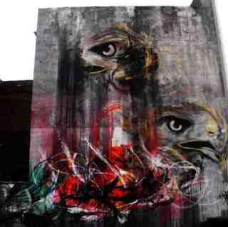 Бразильский уличный художник. Frenetic Spray - L7m