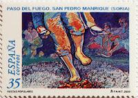 PASO DEL FUEGO. SAN PEDRO MANRIQUE, SORIA