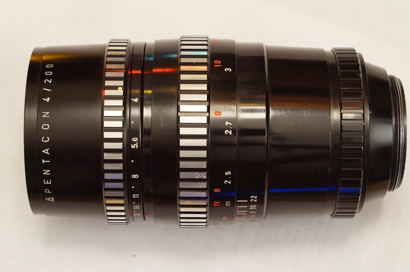 Pentacon 4 / 200 M42