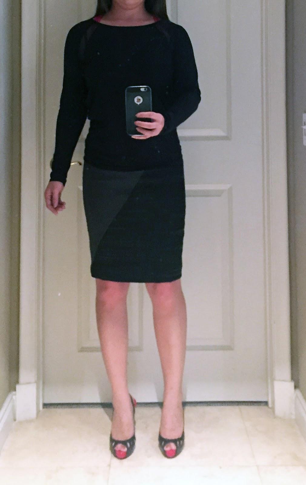 My Superficial Endeavors Tahari Asl Marcelina Pencil Skirt