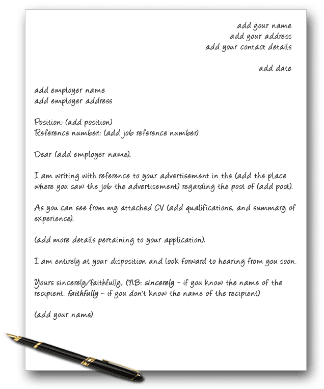 Cover Letter Dear Sir Or Ma Am Resume Writing Services Finance