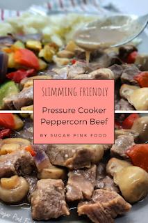 peppercorn beef recipe slimming world