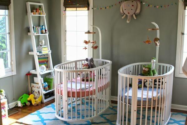 dormitorio bebés hermanos
