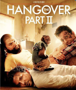 Poster Of The Hangover Part II In Dual Audio Hindi English 300MB Compressed Small Size Pc Movie Free Download Only At worldfree4u.com