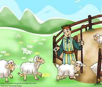 Era un pastor que tenía un rebaño de ovejas, pero no tenía un macho para 'cubrirlas'.   Le comenta su problema a un colega y éste le dice:  - No pasa nada. Llévatelas al monte y las cubres tú mismo.