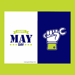 May Day festival wishes image