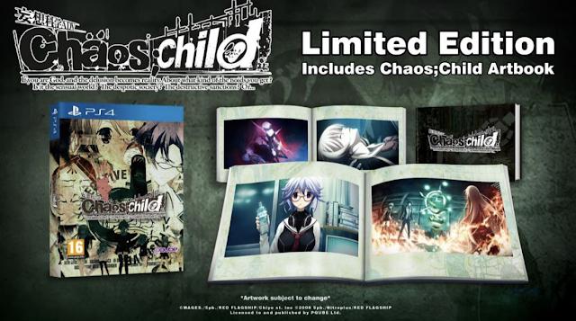 Chaos;Child llegará el 13 de octubre a PS4 y Vita