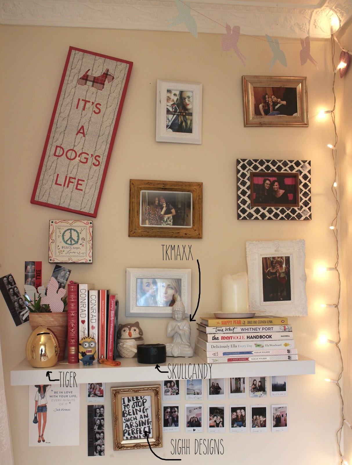picture wall ideas blog