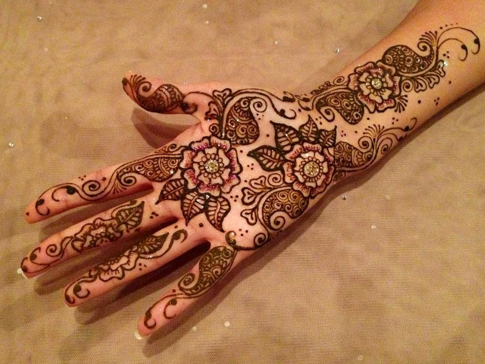 arabic mehndi dasigns