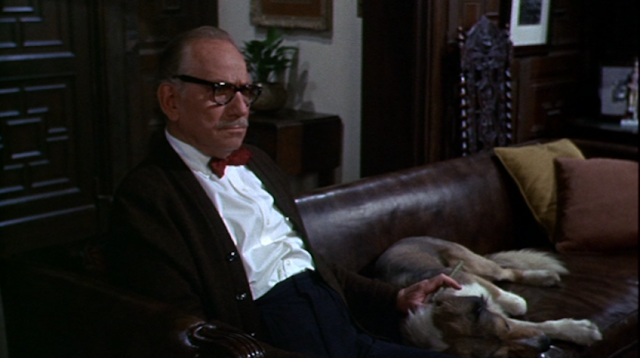 Melvyn Douglas as Warren Trent in Hotel (1967)