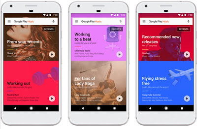 Google Play Music v7.0 Update with New Smart Features & New Home Screen
