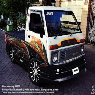 modifikasi mobil pick up l300 modifikasi mobil pick up suzuki futura