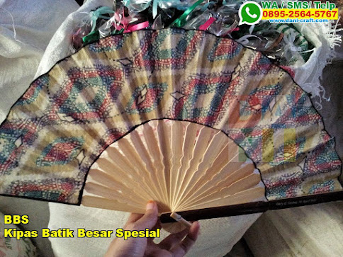 Harga Kipas Batik Besar Spesial