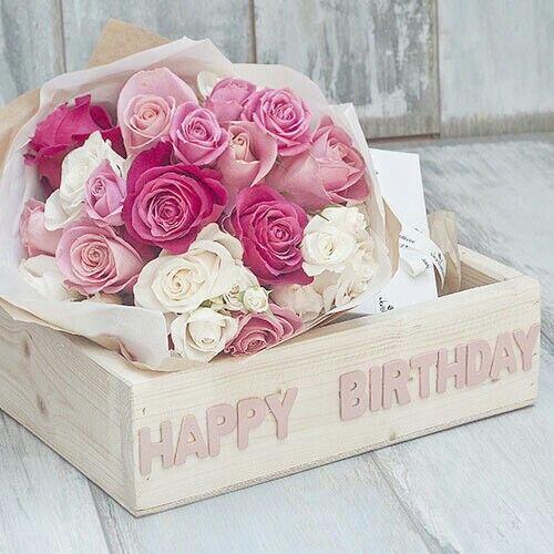 Happy Birthday Flower HD Image