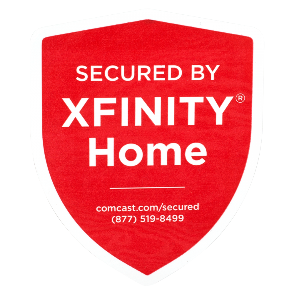 Xfinity Window Sticker